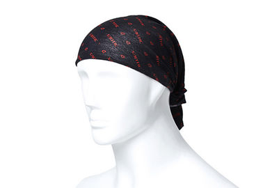 China Headwear multifuncional do lustre do crânio do poliéster Bandana absorvente super de 25 * de 50 CM fornecedor